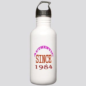 Authentic Since 1984 B Stainless Water Bottle 1.0L