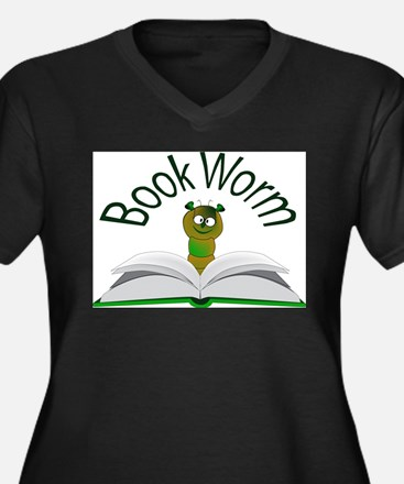 Book Worm Plus Size T-Shirt