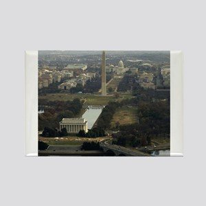 Washington DC Aerial Photograph Magnets