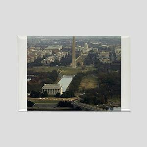 Washington DC Aerial Photograph Magnets