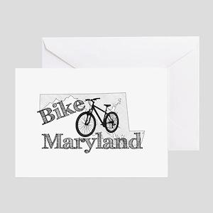 Bike Maryland Greeting Card