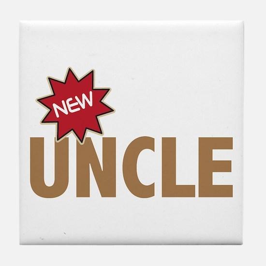 New Uncle Nephew Niece Family Tile Coaster