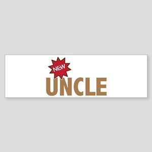 New Uncle Nephew Niece Family Bumper Sticker