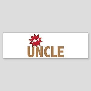 New Uncle Nephew Niece Family Bumper Sticker