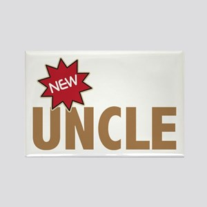 New Uncle Nephew Niece Family Rectangle Magnet