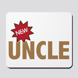 New Uncle Nephew Niece Family Mousepad