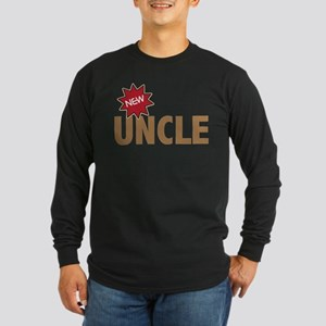 New Uncle Nephew Niece Family Long Sleeve Dark T-S