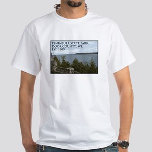 Peninsula State Park White T-Shirt