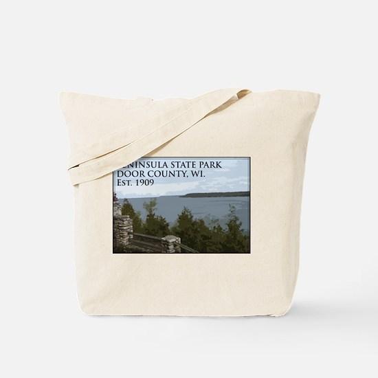 Peninsula State Park Tote Bag