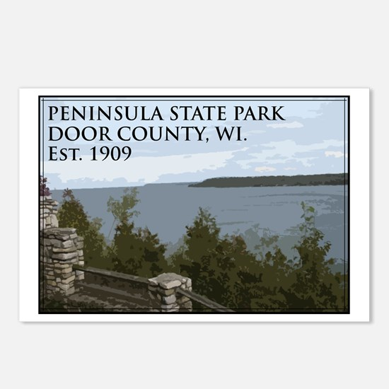 Peninsula State Park Postcards (Package of 8)