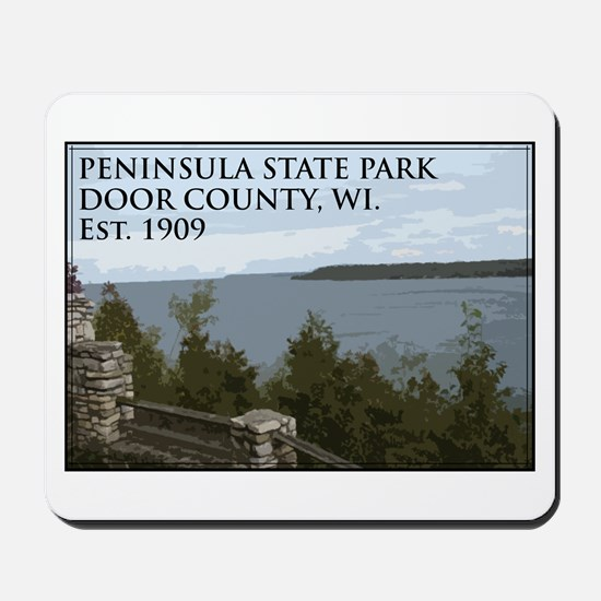 Peninsula State Park Mousepad