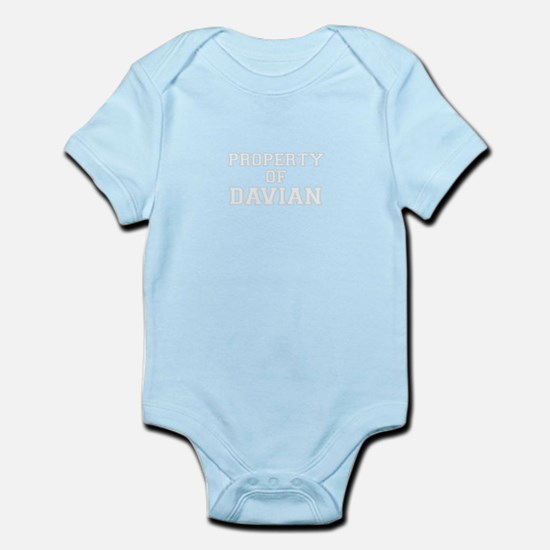 Property of DAVIAN Body Suit