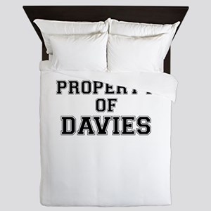 Property of DAVIES Queen Duvet