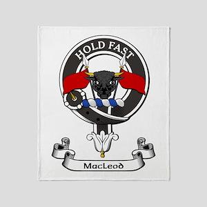 Badge - MacLeod Throw Blanket