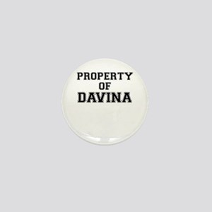 Property of DAVINA Mini Button