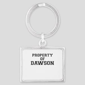 Property of DAWSON Keychains