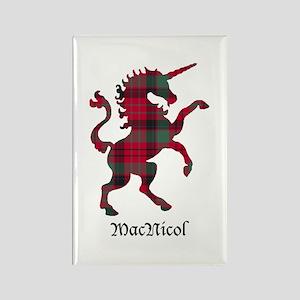 Unicorn - MacNicol Rectangle Magnet