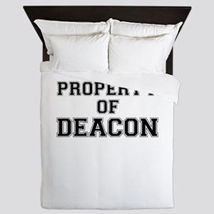 Property of DEACON Queen Duvet
