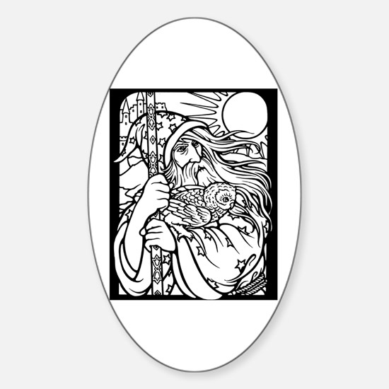 Wizard 2 Oval Decal
