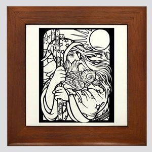 Wizard 2 Framed Tile
