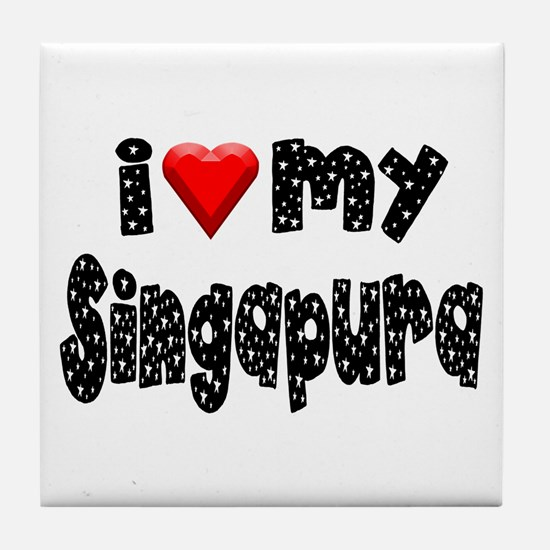 Singapura Tile Coaster
