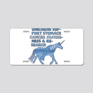 nicorns Support Stomach Can Aluminum License Plate