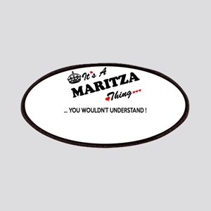 MARITZA thing, you wouldn't understand Patch