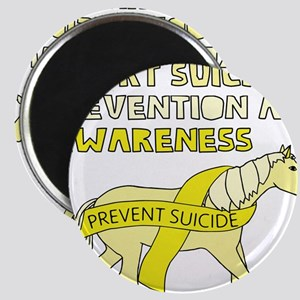 Unicorns Support Suicide Prevention & Awar Magnets