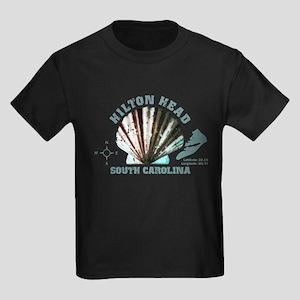 Hilton Head South Carolina Kids Dark T-Shirt