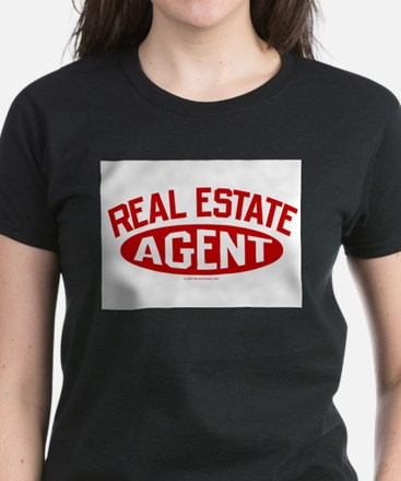 REAL ESTATE AGENT (Red) T-Shirt