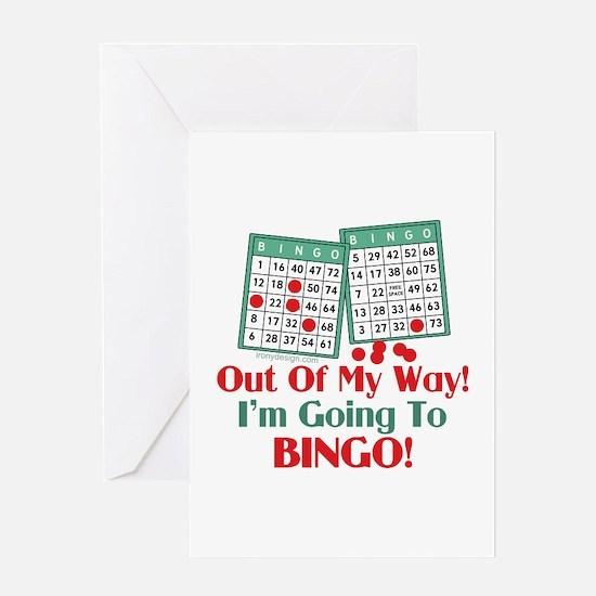 Bingo Players Funny Saying Greeting Card