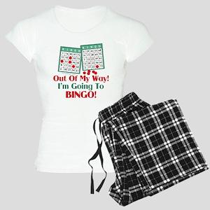 Bingo Players Funny Saying Women's Light Pajamas