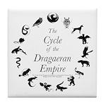 Dragaeran Cycle Tile Coaster