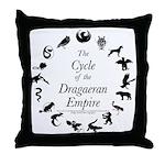 Dragaeran Cycle Throw Pillow
