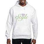 Editors do it with Style Hooded Sweatshirt