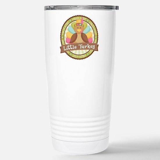 Little Turkey Stainless Steel Travel Mug