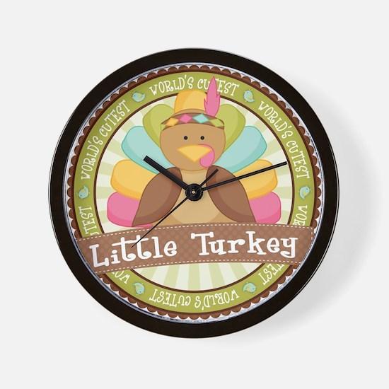Little Turkey Wall Clock