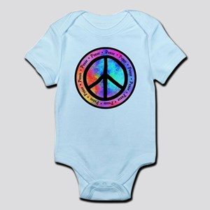 Distorted Peace Sign Body Suit