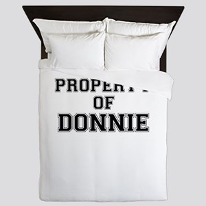 Property of DONNIE Queen Duvet