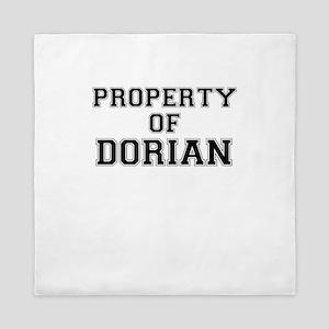 Property of DORIAN Queen Duvet