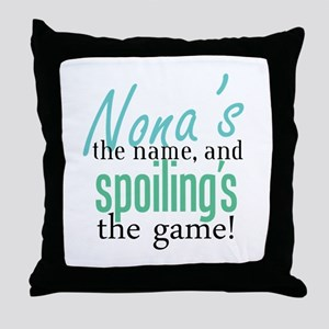 Nona's the Name, and Spoiling's the Game! Throw Pi