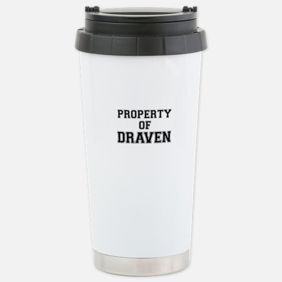 Property of DRAVEN Stainless Steel Travel Mug