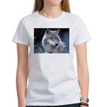 Gray Wolf Women's T-Shirt
