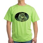 Gray Wolf Green T-Shirt