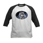 Gray Wolf Kids Baseball Jersey