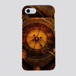 Awesome noble steampunk design, clocks iPhone 8/7