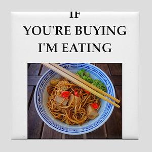 noodles Tile Coaster