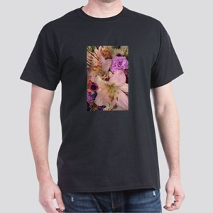 Flower Bouquets 3 Dark T-Shirt