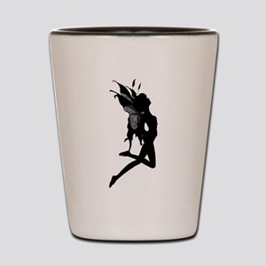 Fairy Silhouette Shot Glass