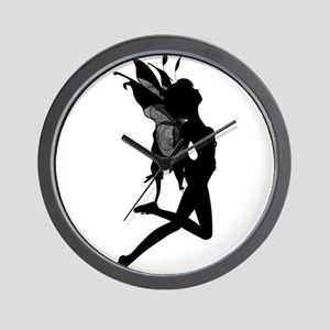 Fairy Silhouette Wall Clock